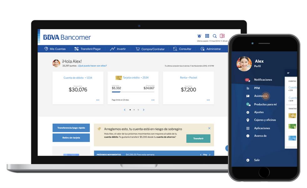 BBVA Bancomer –Personal Banking Experience