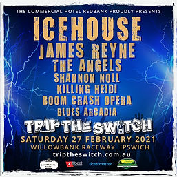 Trip The Switch poster with Blues Arcadi