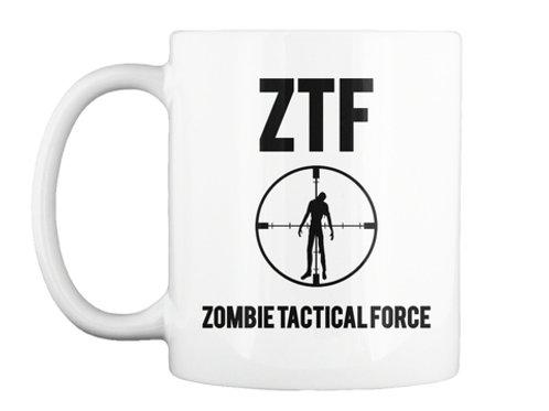 Zombie Tactical Force Mug