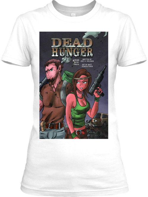 Women's Dead Hunger Comic Tee