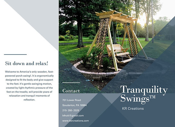 Centennial Park Treadle Swing