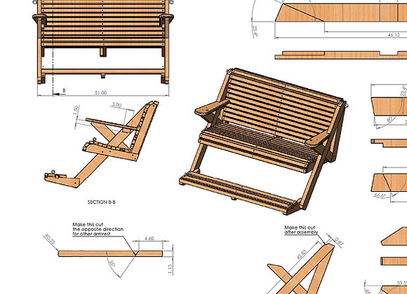 Plans for the Treadle Swing