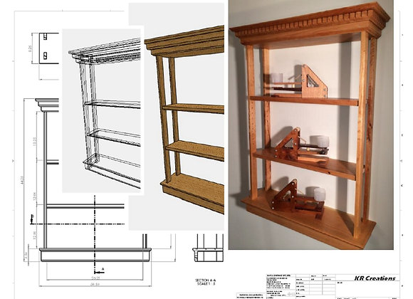 Plans for Wall Shelf