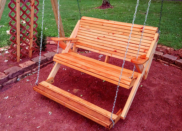 Treadle Swing (Support Structure not included)