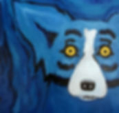 George Rodrigue Blue Dog