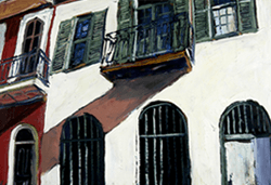 James Michalopoulos French Quarter Painting