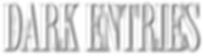 Dark Entries white logo.png