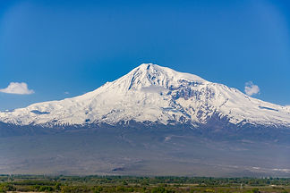 Mount Ararat where God made a covenant with Noah