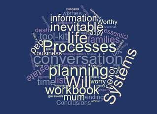 Systems and processes- not just for business  but essential to give your life a happy ending