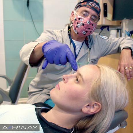 Airway - Dr. Kevin Boyd and Eilish in Exam