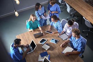Overhead Medical School Table - _2616344
