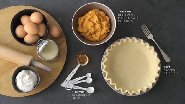 BOB EVANS   Sweet Potato Pie
