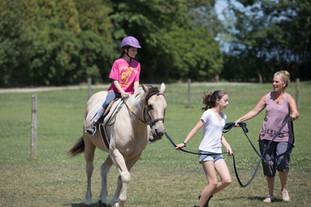 Hosrseback Riding at The Little Red Barn