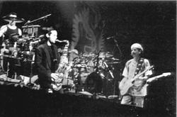 ShaShaty on stage w/Carlos Santana