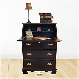 Mueble azul con fondo blur border B (Jan