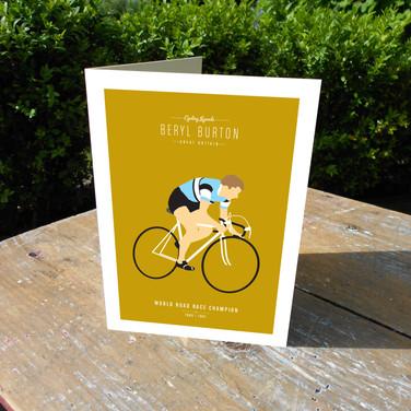 Beryl Burton_Greetings Card