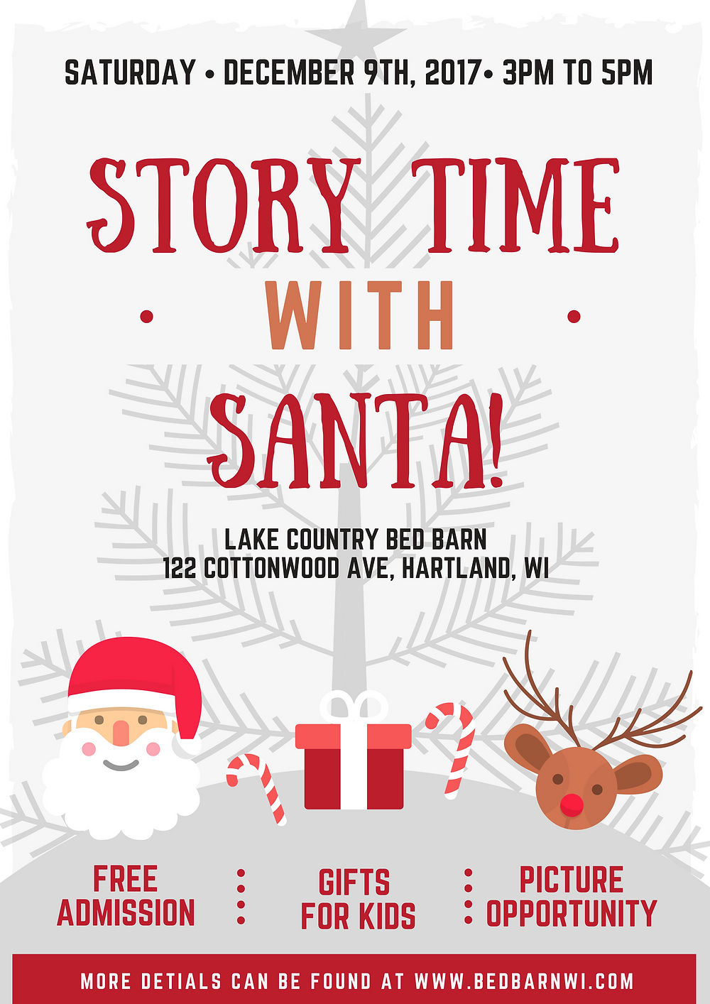 Story Time with Santa Flyer