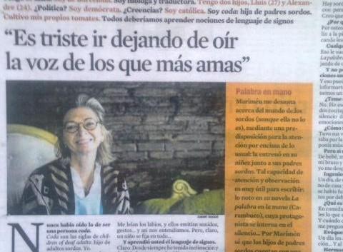 Entrevista en La Contra
