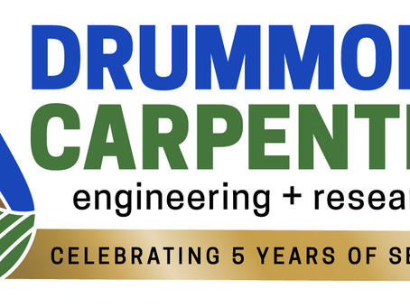 Drummond Carpenter Celebrates Five Years of Service, Keeps Growing