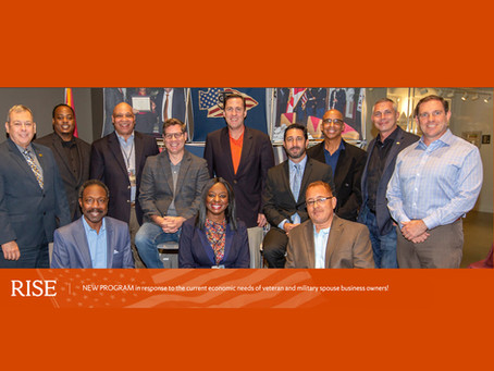 DC President Chad Drummond participates in the RISE program for veteran-owned businesses.