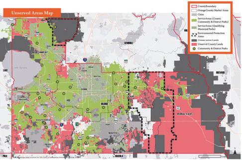 Orange County Parks Growth Analysis