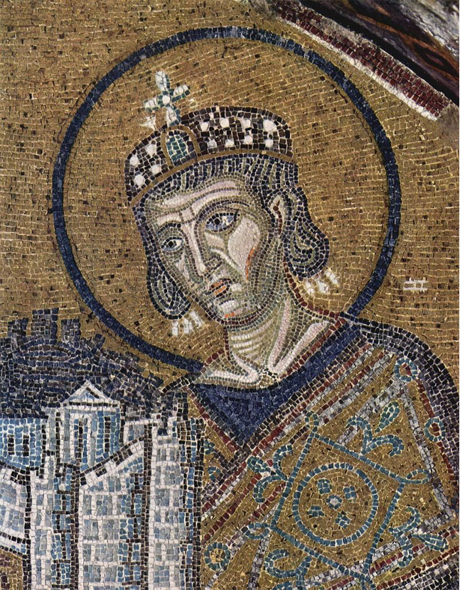 Mosaic image of Constantine