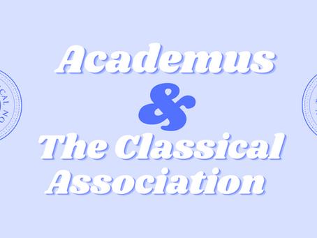 Academus announces partnership with the Classical Association