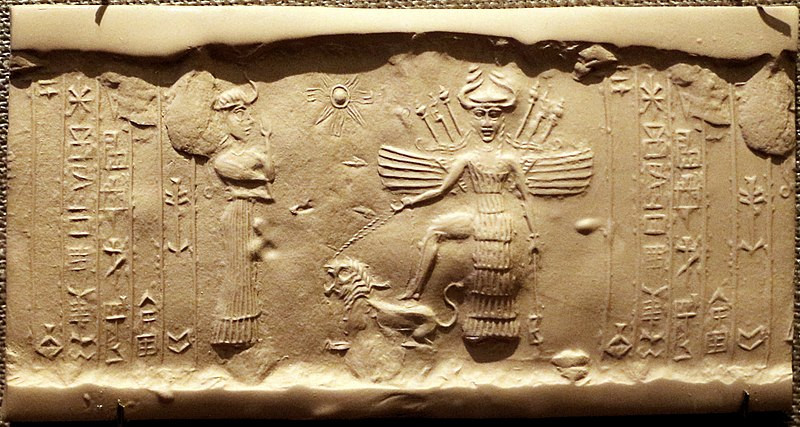 Seal of Inanna, 2350-2150 BCE