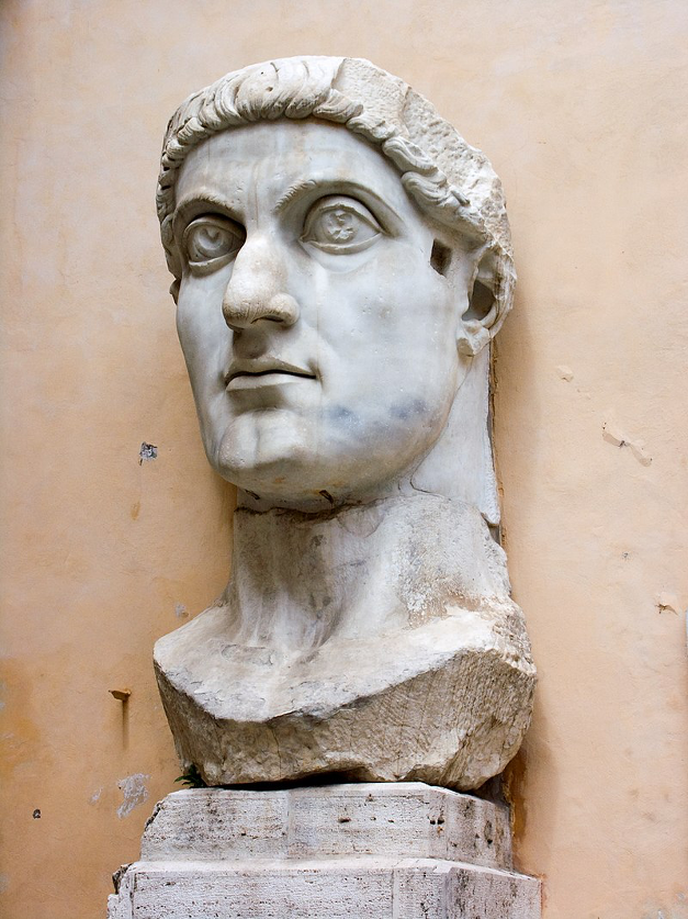 Colossal head of Constantine