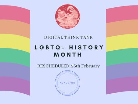 UPDATES: LGBTHM Incident 11th Feb 2021- Rescheduling