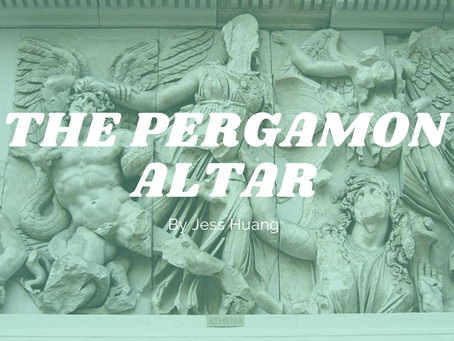 The Pergamon Altar - by Jess Huang