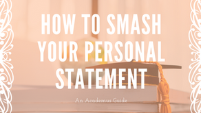 'How to smash your personal statement' - Applying for a Classical Subject at Uni