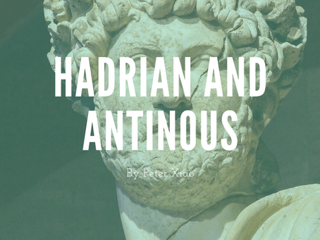 Hadrian and Antinous - by Peter Xiao