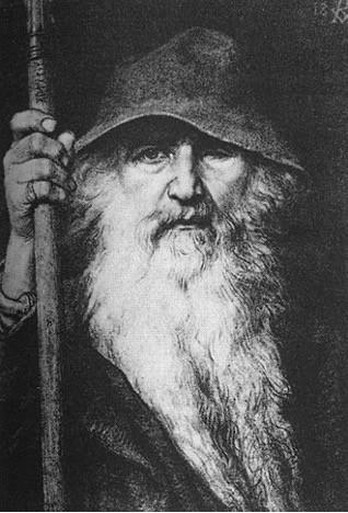 Odin doing his best Gandalf impression. By Georg von Rosen, 1886.