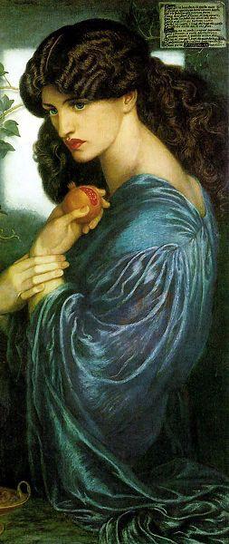 Proserpina by Dante Gabriel Rossetti