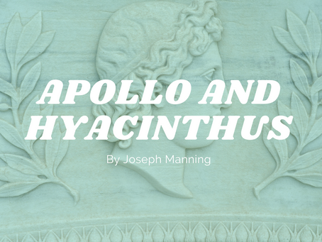 Apollo and Hyacinthus - by Joseph Manning
