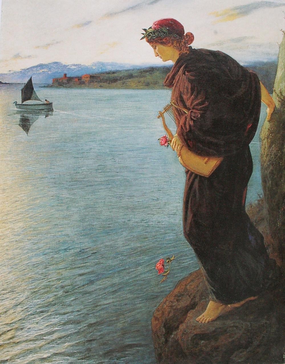 Sappho - Ernst Stückelberg 1897