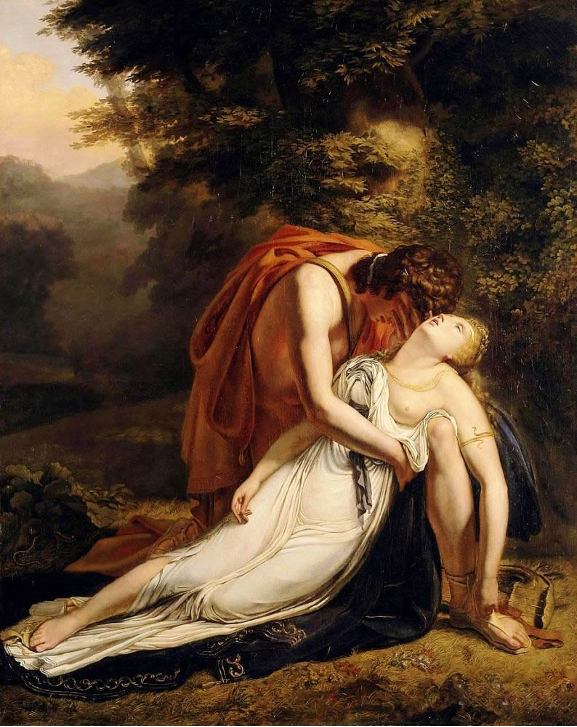 Orpheus Mourning the Death of Eurydice. Ary Scheffer, 1814