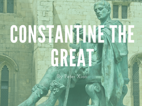 Constantine the Great - by Peter Xiao