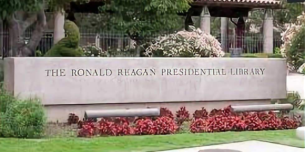1/26 Ronald Reagan Library