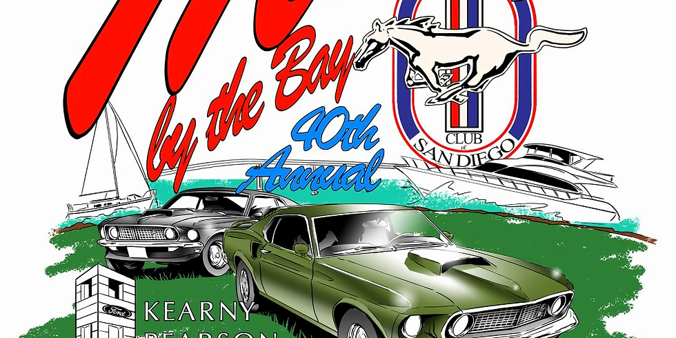 Register your Car-Mustangs By The Bay San Diego