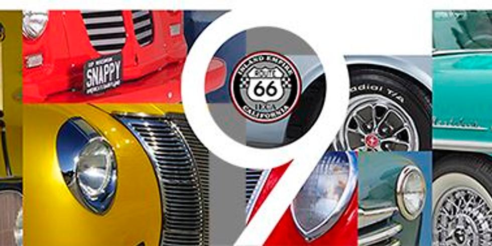 Route 66 IECA 9th annual Cucamonga Car Show