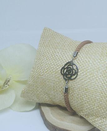 """Bracelet tressé """"Flowers"""""""