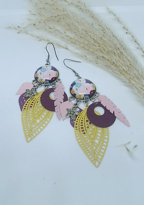 Boucles cabochons Pop