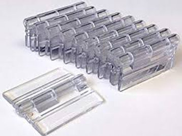 Acrylic Hinges pack of 2 (1 Set)