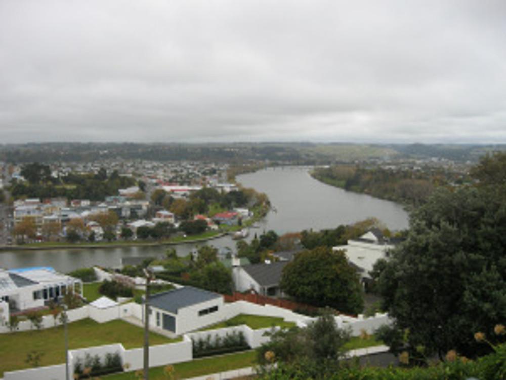 Wanganui on the banks of the mighty Wanganui River