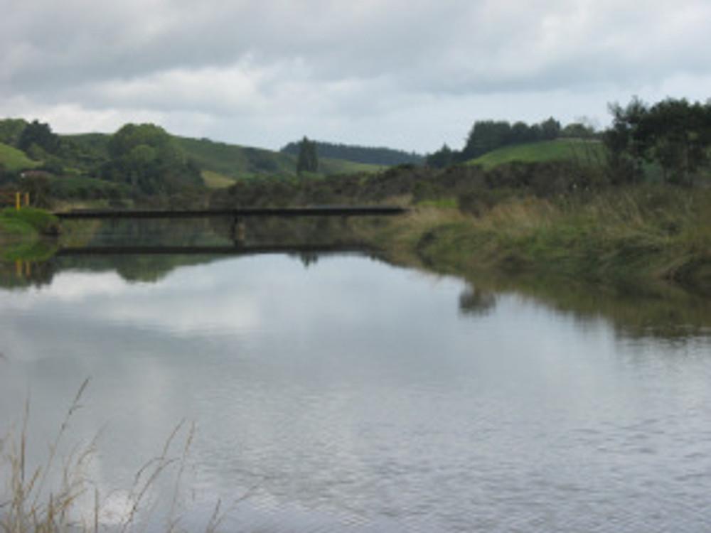 Bridge across the Matekerepu River