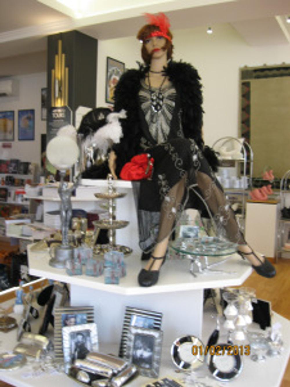 the Art Deco shop, Napier