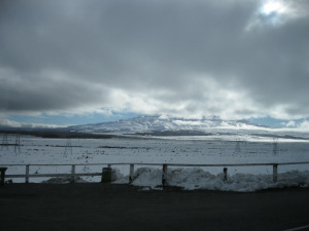 Mt Ruapehu, central North Island plateau, NZ