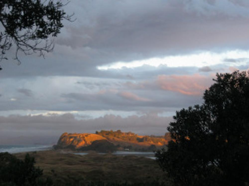 The Waiotahi bluff near Opotiki